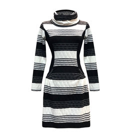 Lousje & Bean L&B- Collar Dress in Nordic Stripe
