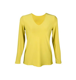 Lousje & Bean L&B-Sass Top in Chartreuse