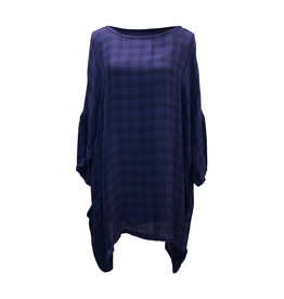 Cut Loose Cut Loose-Check Pullover