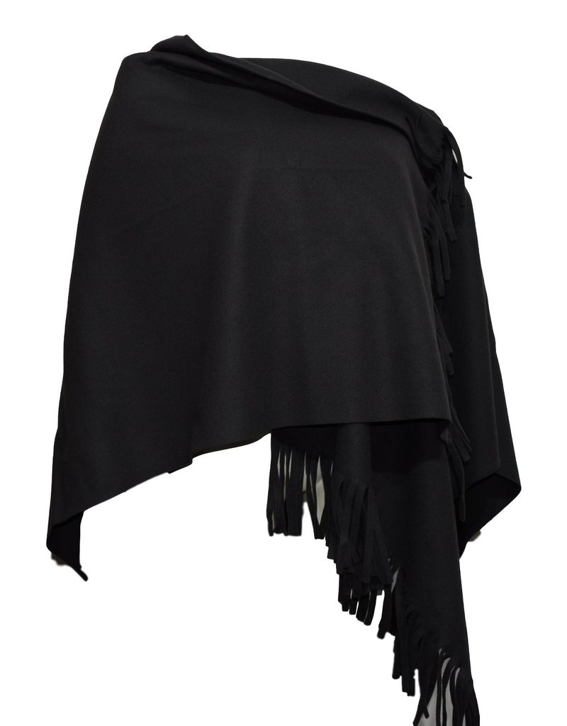 Boris BORIS- Poncho in Black