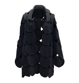Boris BORIS- Dot Vest in Black