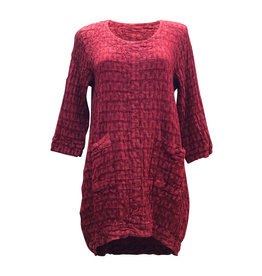 Grizas GRIZAS- Tunic Red