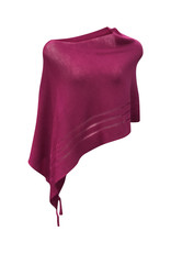Ireland-Mohair/Silk Poncho in Pink