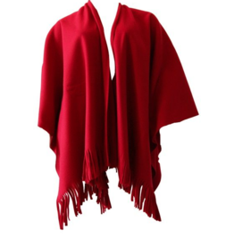 Boris BORIS- Poncho in Red