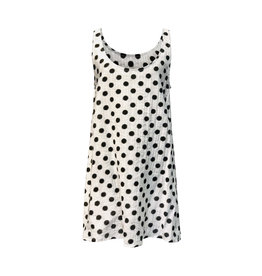 Lousje & Bean L&B- Loose Tank in White Dot
