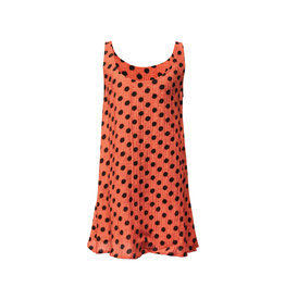 Lousje & Bean L&B- Loose Tank in Coral Dot