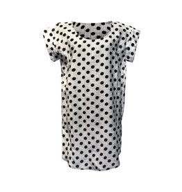 Lousje & Bean L&B- Block Top in White Dot