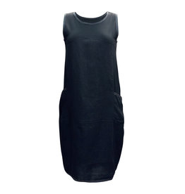 Lousje & Bean L&B- Waffle Dress in Black