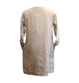 Cut Loose Cut Loose-Linen Coat Dress in Jute
