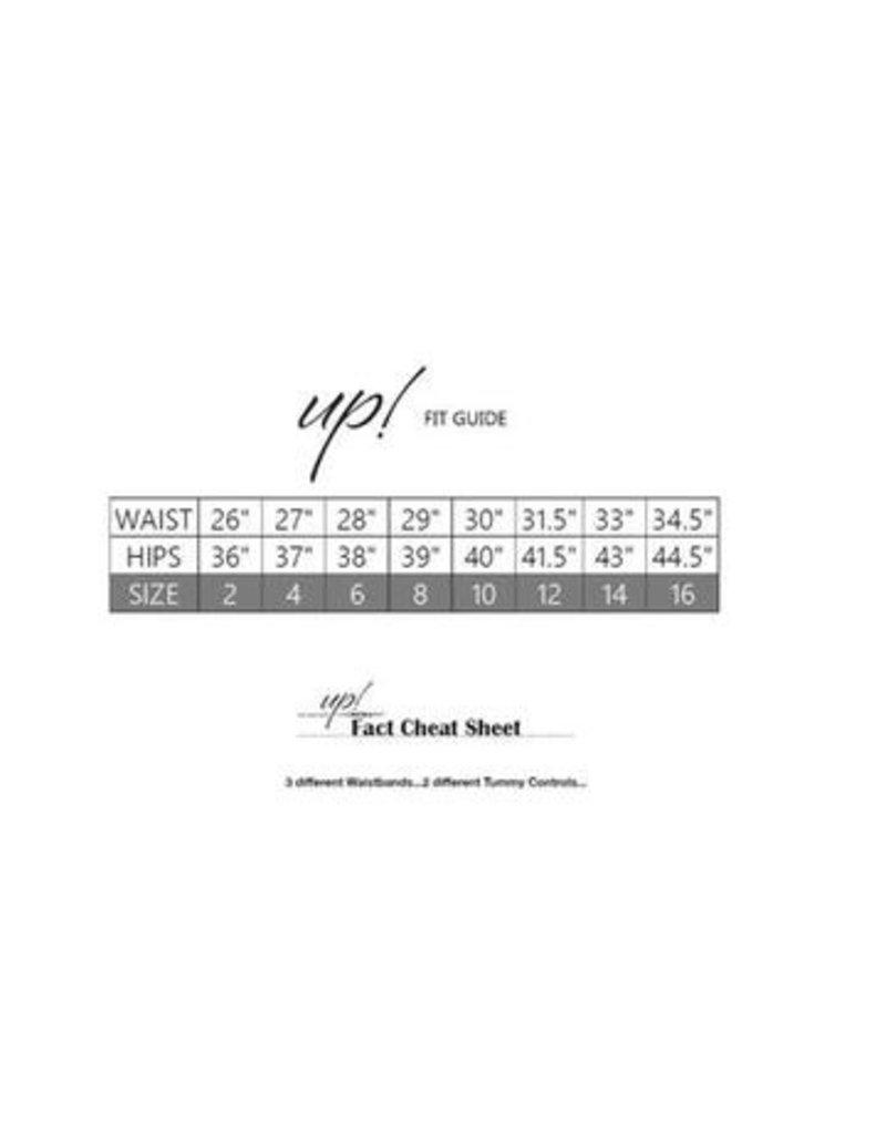 Up Up-Jacquard Lines-Blk-28'