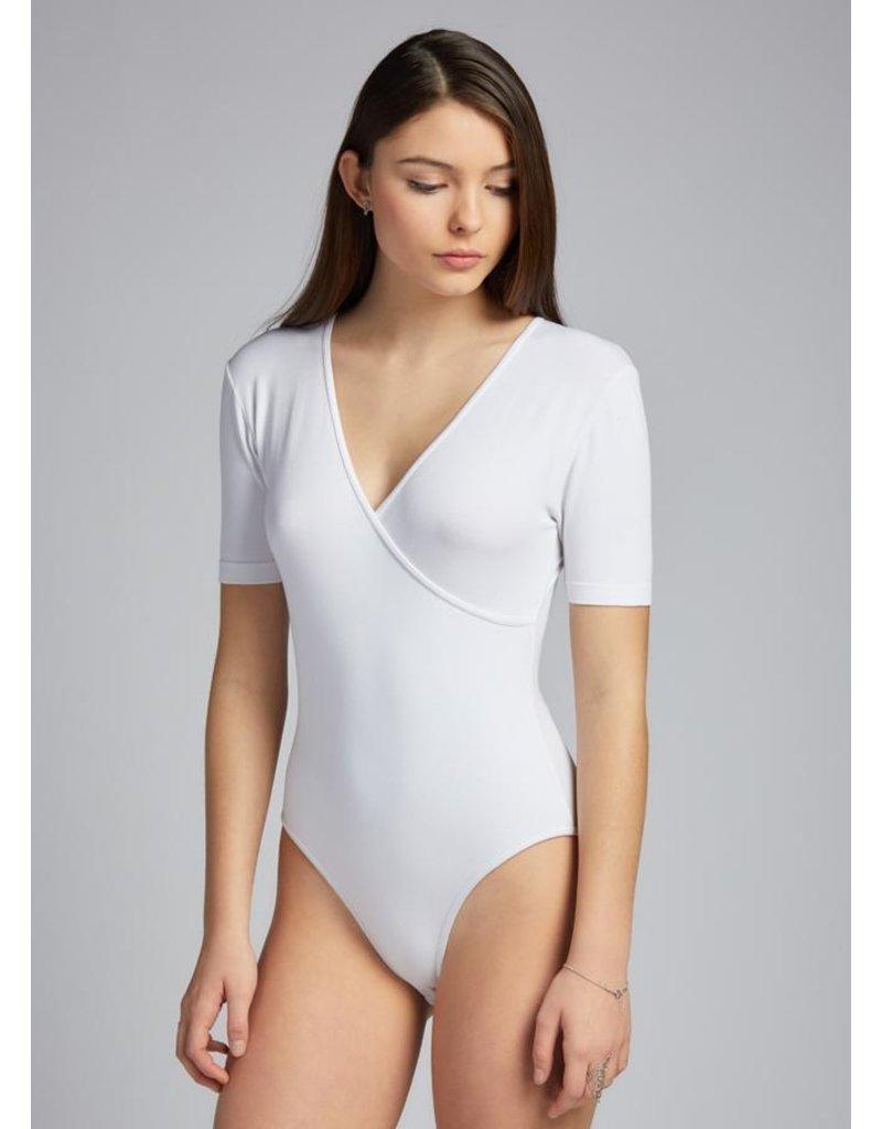 C'est Moi C'est Moi-Bamboo Wrap Body Suit