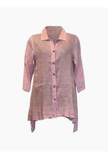 Click Click-Linen Button Tunic