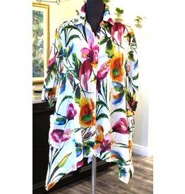 Cotton Tunic Flowers