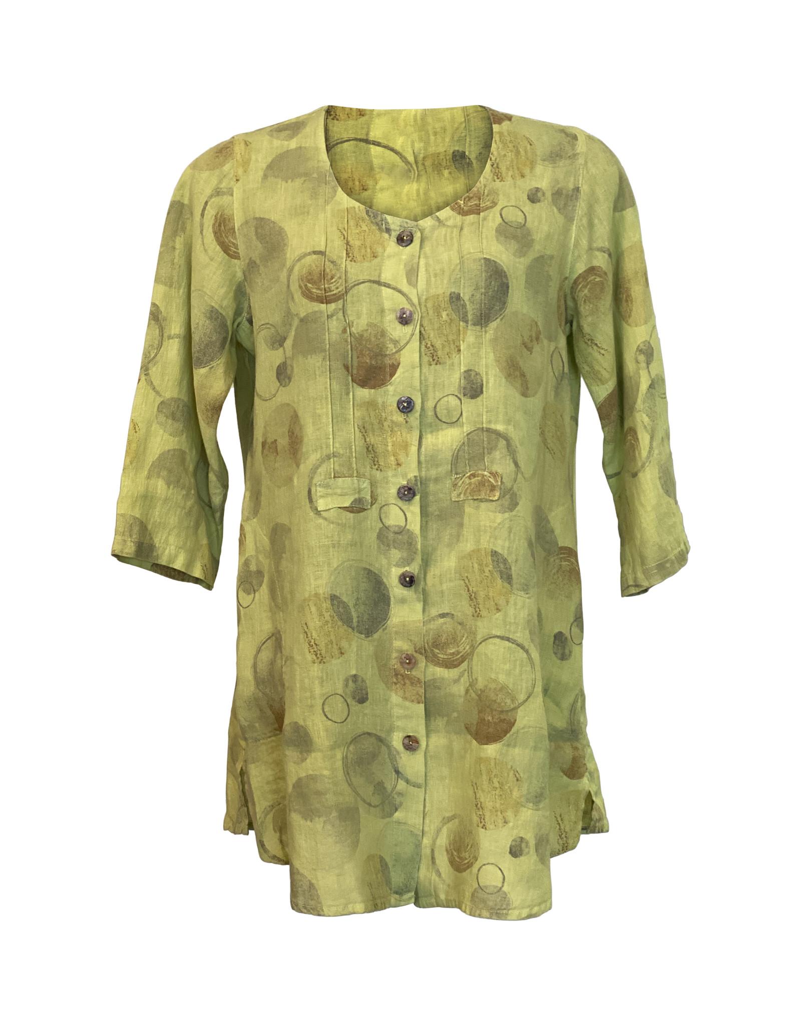 Click Click-Linen Pocket Tunic