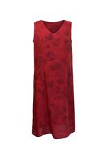 Click Click-Linen Sleeveless Dress