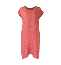 Grizas Grizas-Linen Dress in Orange