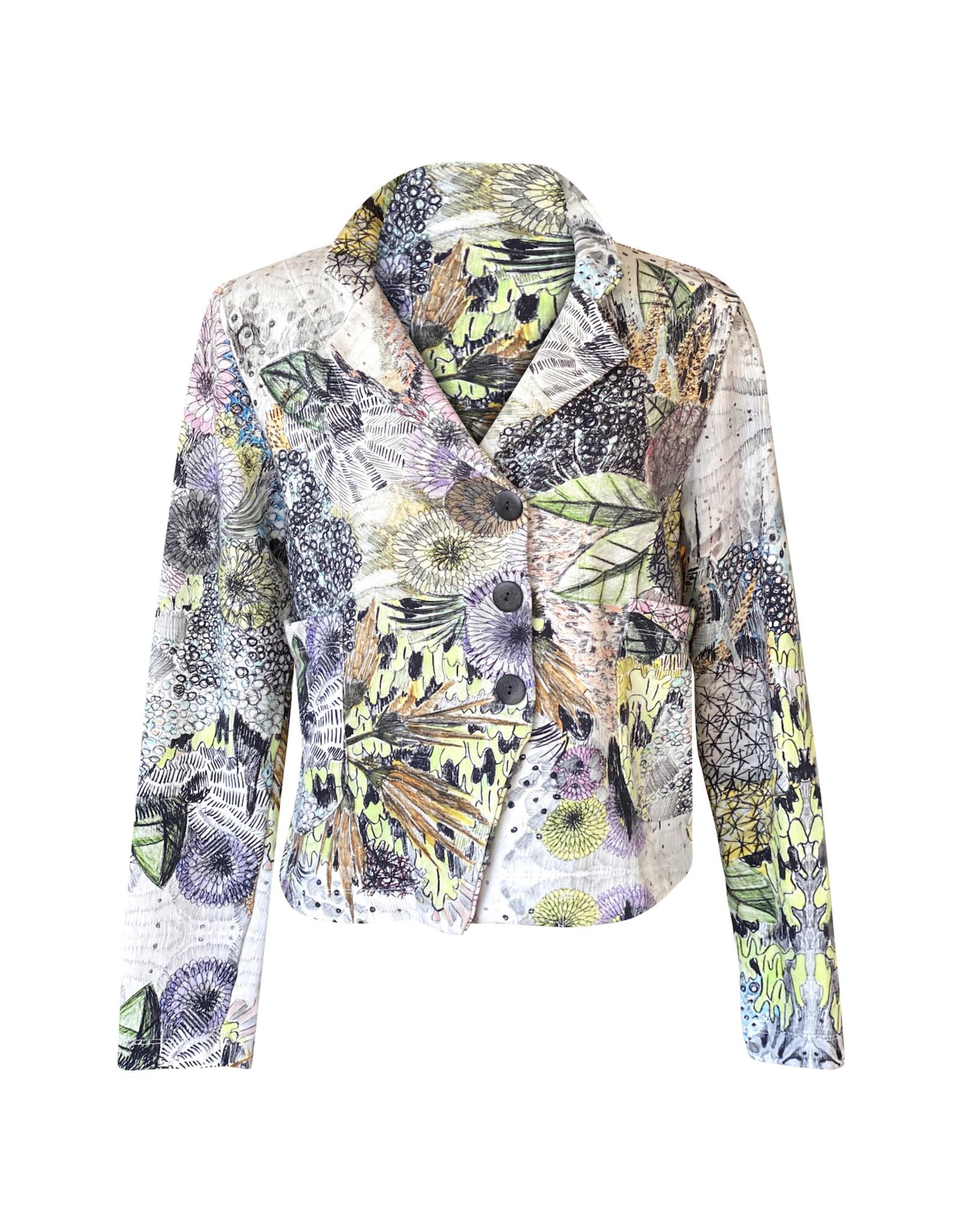 Grizas Grizas-Crop Jacket in Print