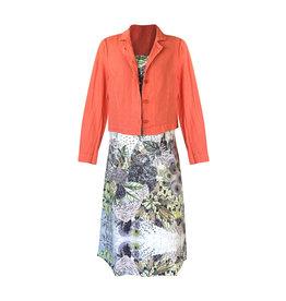 Grizas Grizas-Linen Jacket in Orange