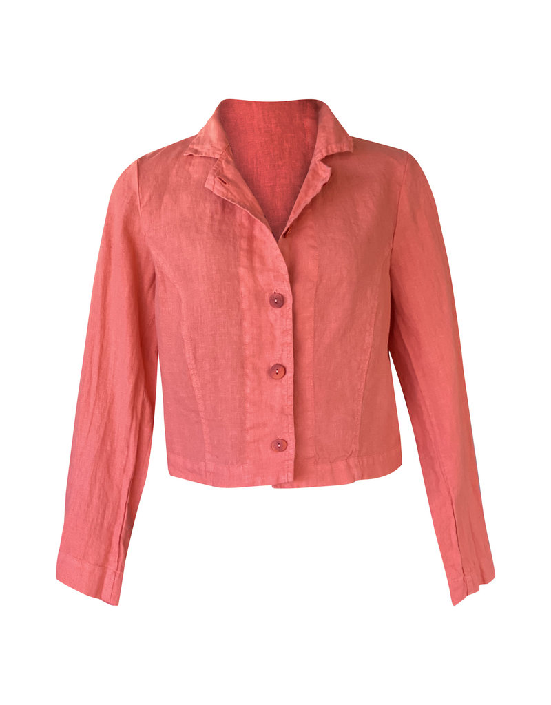 Grizas Grizas-Linen Jacket in Orange