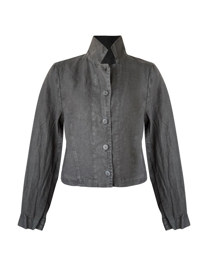 Grizas Grizas-Linen Jacket in Blk
