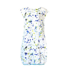 Grizas Grizas-Paint Splat Linen Dress