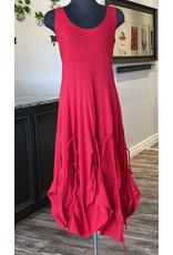 Boris Boris- Pick up Dress in Red
