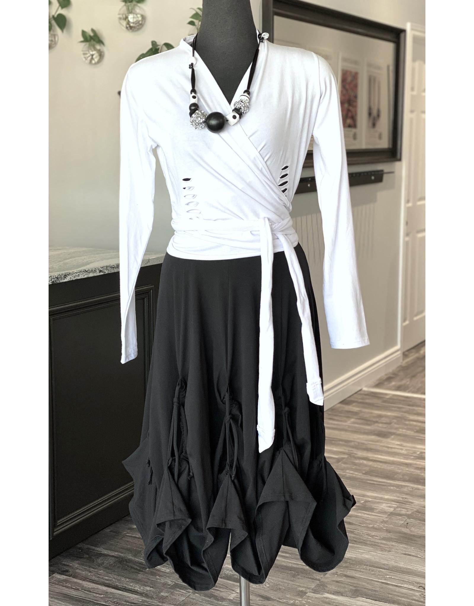 Boris Boris- Pick up Dress in Black