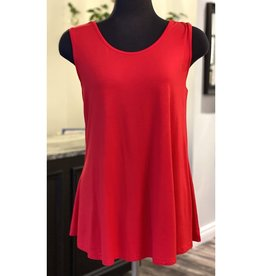 Orange-Red Reversible Bamboo Tank