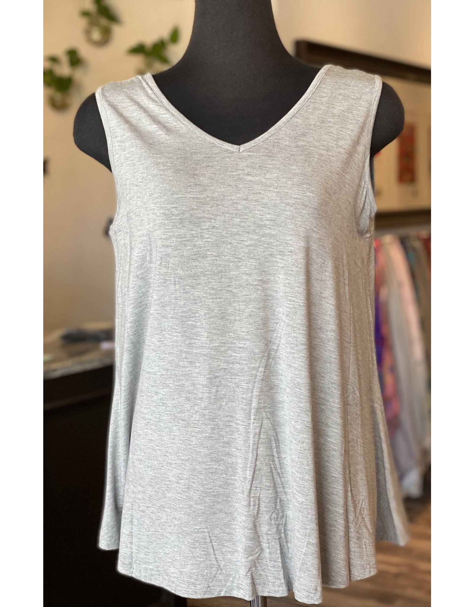 Orange- Lt. grey Reversible Bamboo Tank