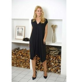 Bamboo Dress in Blk