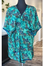 SariKNOTsari Silk Sari- Short Kimono 11