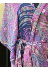 SariKNOTsari Silk Sari- Short Kimono 4