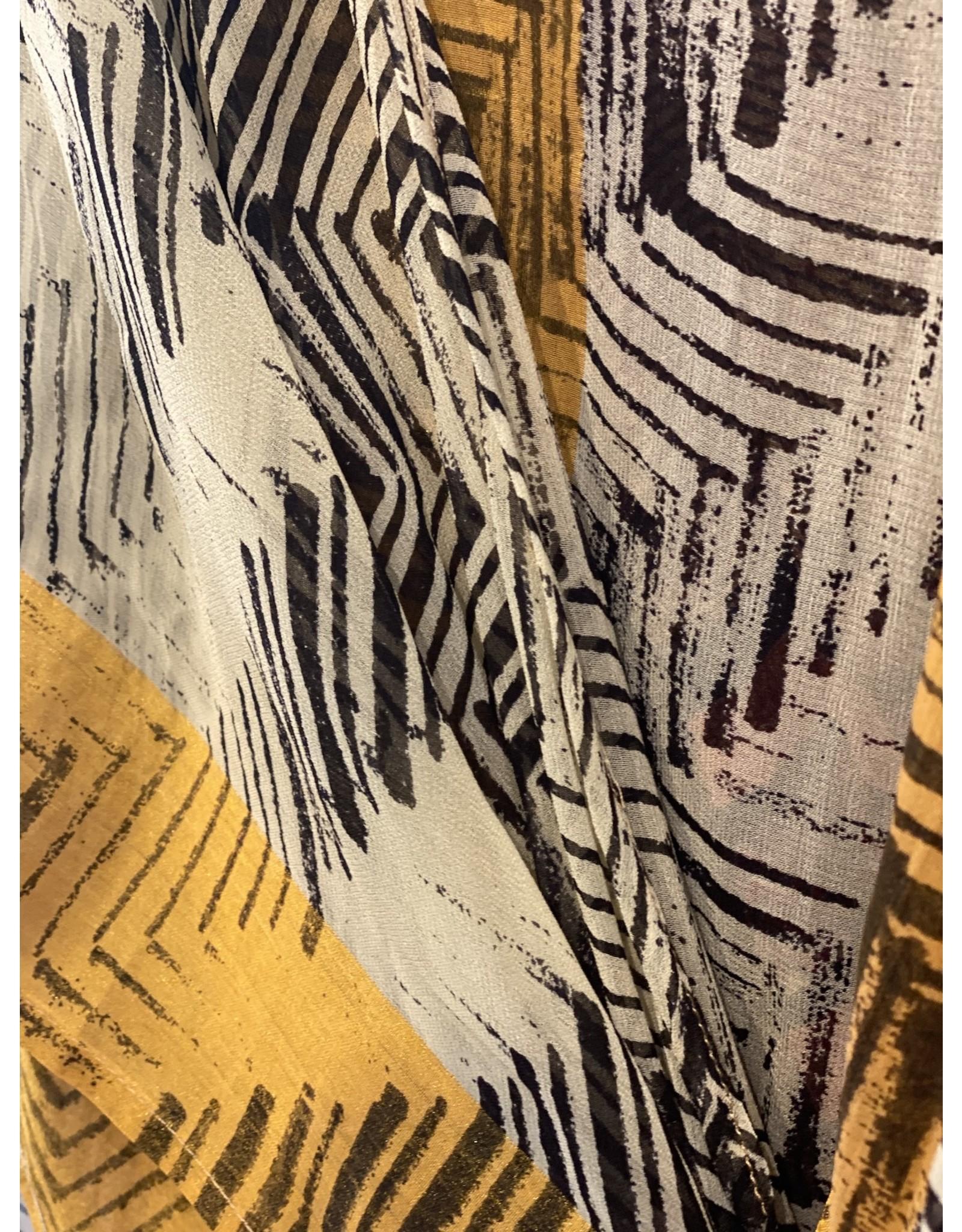 SariKNOTsari Silk Sari- Short Kimono 1