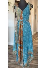 SariKNOTsari Silk Sari Jumpsuit 2