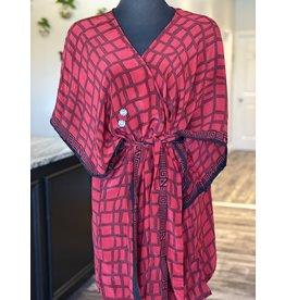 SariKNOTsari Silk Sari- Short Kimono 19