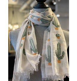 Cactus Scarf Viscose - 2
