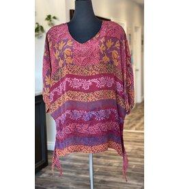 SariKNOTsari Silk Sari- Oversized Shirt 6