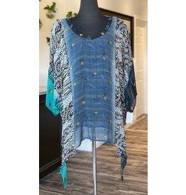 SariKNOTsari Silk Sari- Oversized Shirt 2