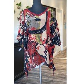 SariKNOTsari Silk Sari- Oversized Shirt 1