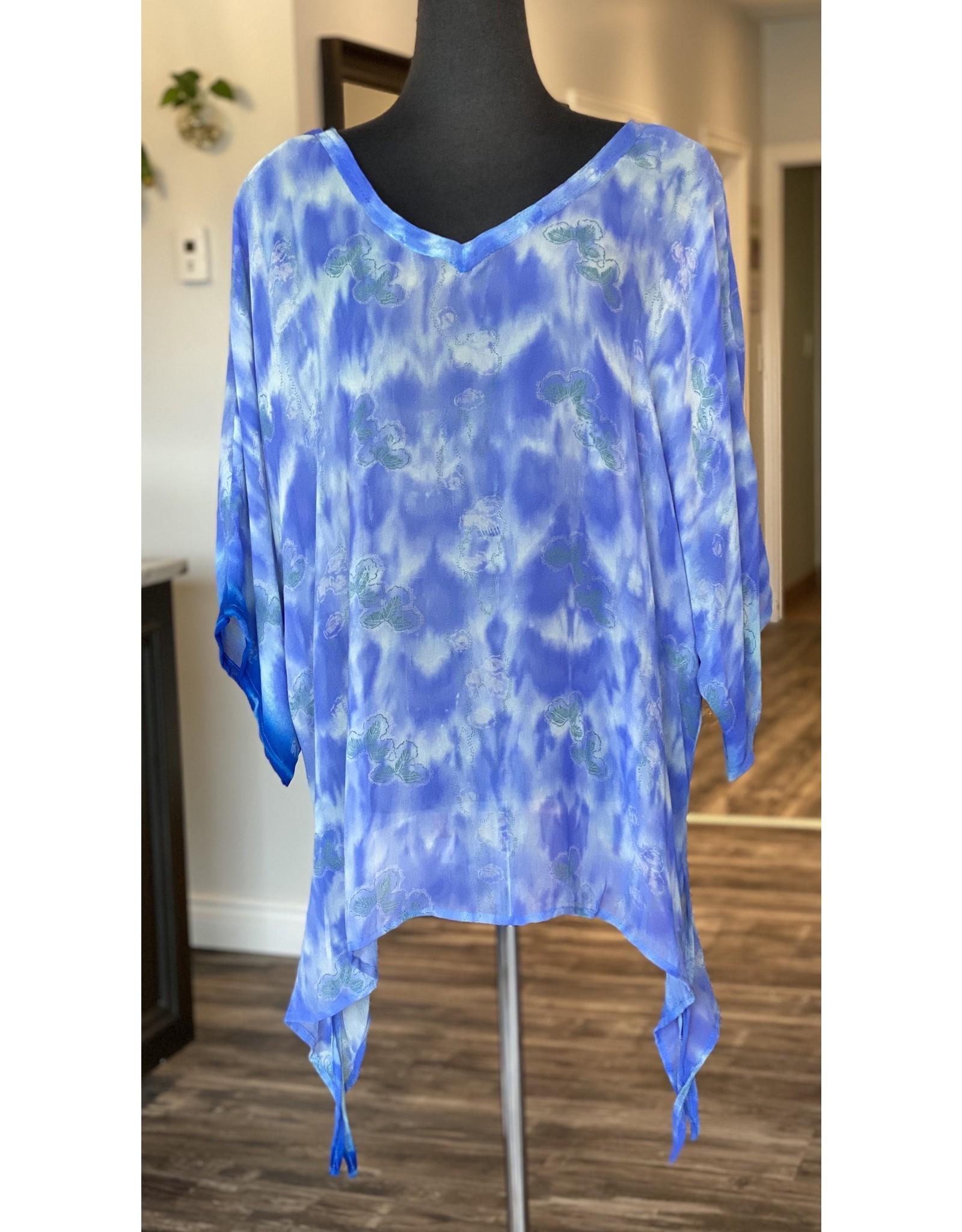 SariKNOTsari Silk Sari- Oversized Shirt 7