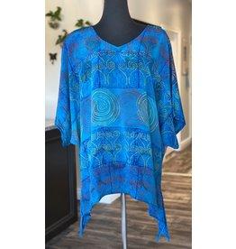 SariKNOTsari Silk Sari- Oversized Shirt 8