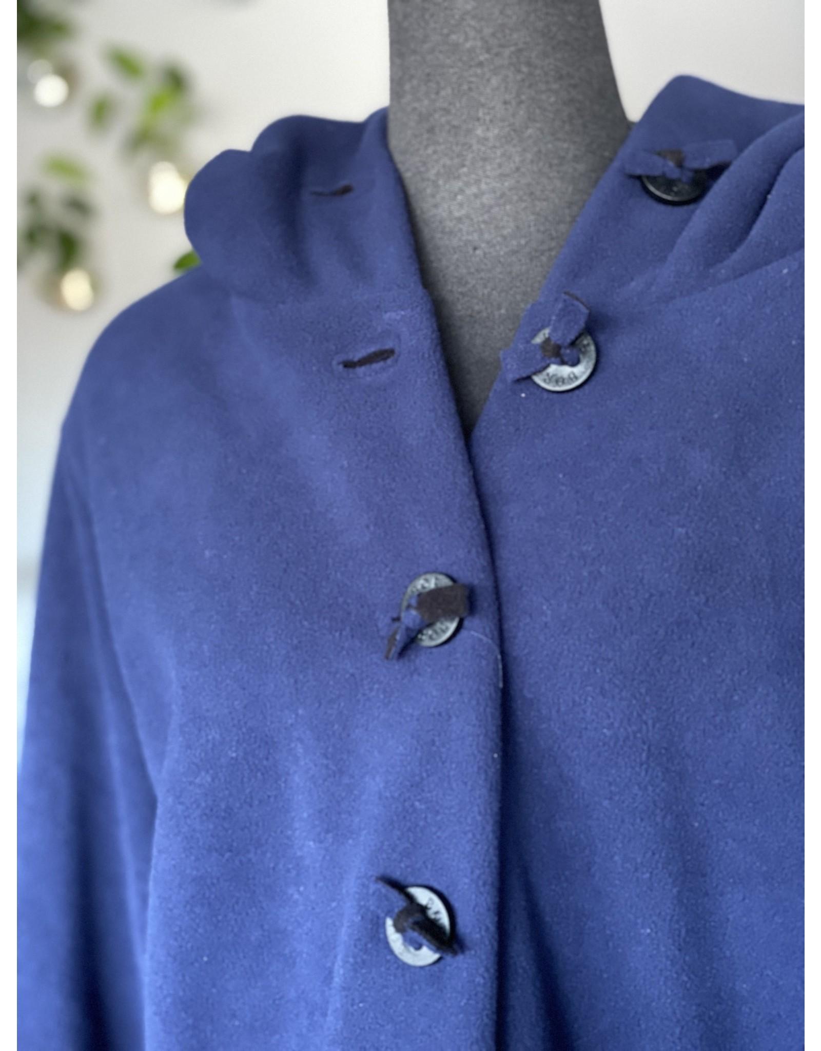 Boris Boris- Coat in Navy #1100