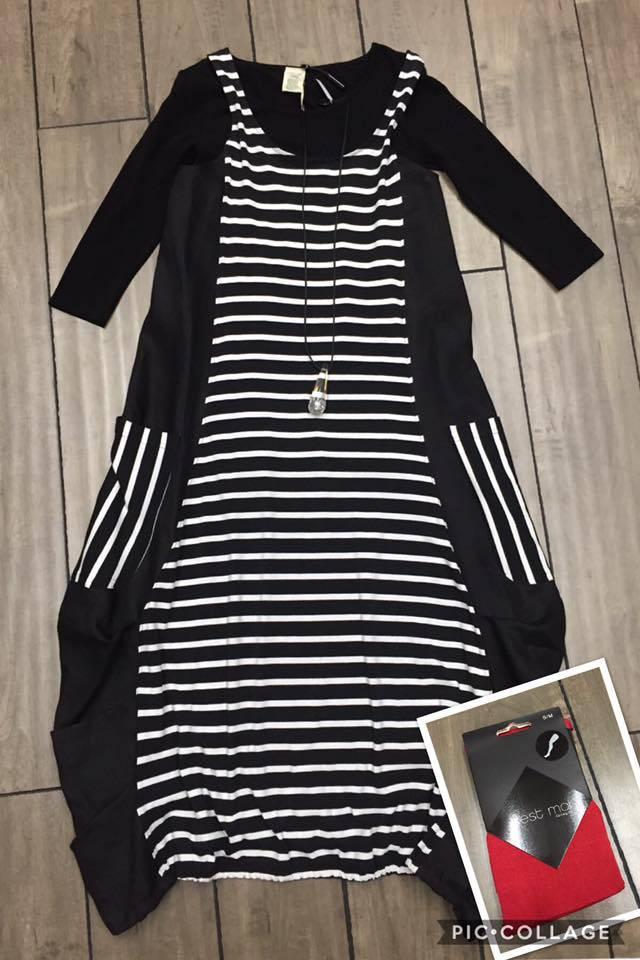New Issey Dress look