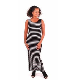 Lousje & Bean L&B- Tank Dress in Stripes|SS18