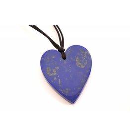 Zsiska ZSISKA- Heart Blue/Gold