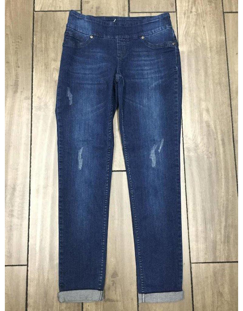 Up Up Jeans- Distressed Denim