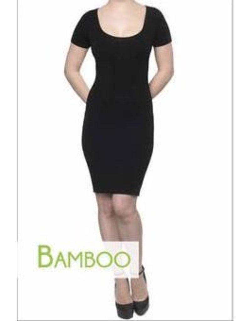 C'est Moi C'est Moi-Bamboo Cap Sleeve Dress
