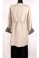 Cut Loose Cut Loose- Linen Coat
