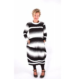 Lousje & Bean L&B- Juki Dress in Blk/Wht