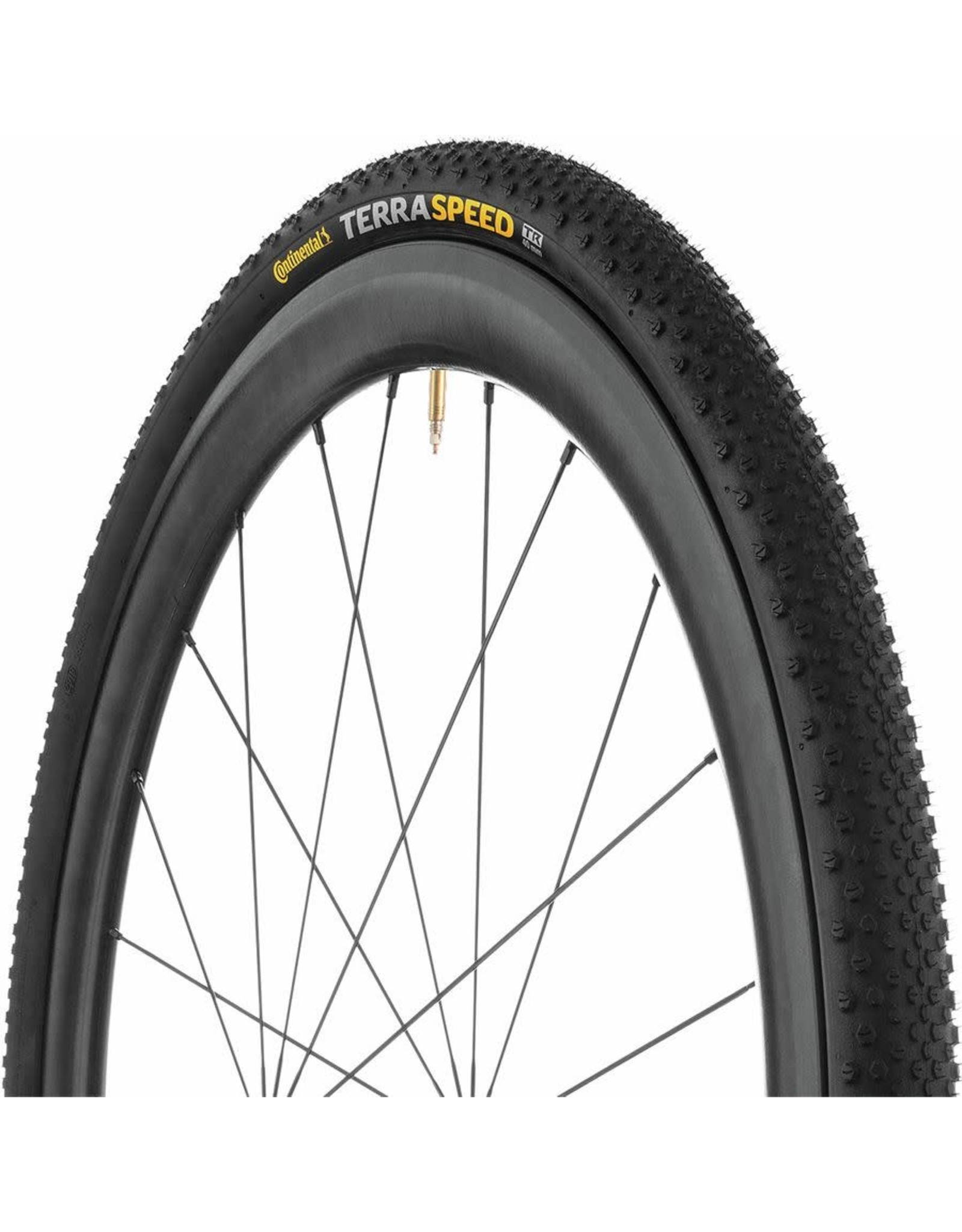 CONTINENTAL Continental - Tire - TERRA SPEED 700x35c, ProTection TR + Black Chili